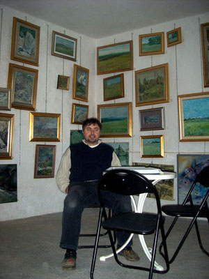 Franjo in his Studio