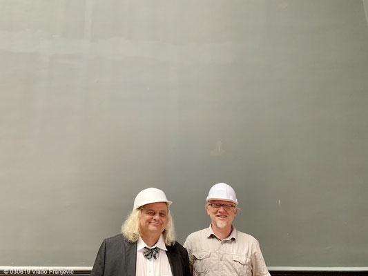 Prof.Dr. Rainer Vollkommer i Vlado Franjević