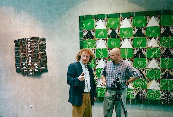Vlado und Künstlerkollege Arno Oehri