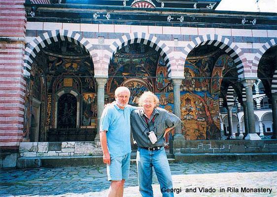 2003 Rilla Manastira - Vlado with Gallerist Georgi Kolev