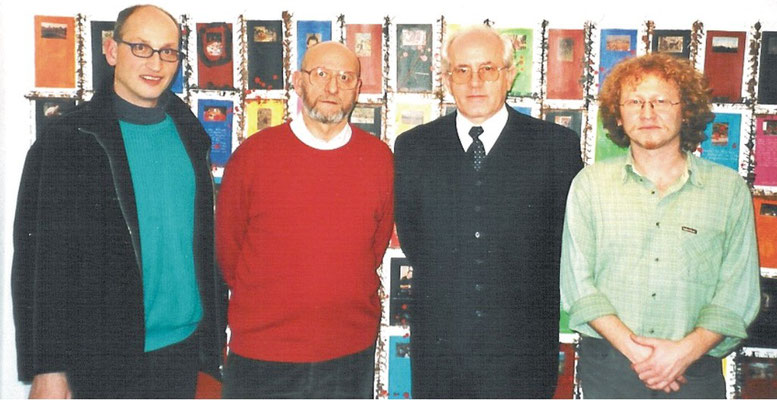 dr. Thomas E. Wanger, Anton Cetin and Slavko Novokmet (from left to right)