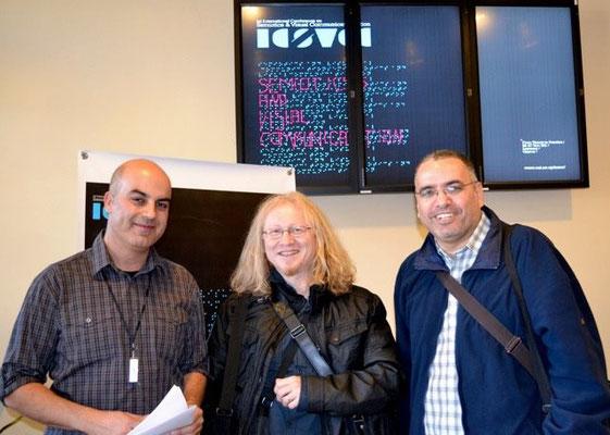 S lijeva na desno: prof. Evripides Zantides, Vlado Franjević i prof.dr. Arafat Al-Naim