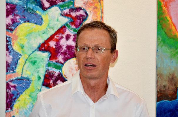 Daniel Quaderer, Geschäftsführer des Seminarzentrums Stein Egerta