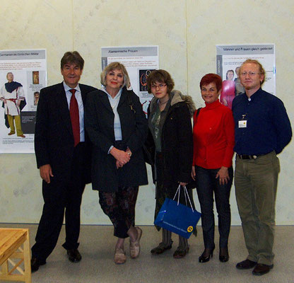 2008 Vaduz (National Museum of Liechtenstein) - Vlado and Rajka Poljak together with Family of Croatian Ambassador in Switzerland, mr. Jaksa Muljacic