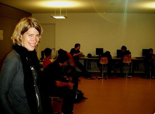 Patricia Oehri, eine von nettesten Lehrpersonen