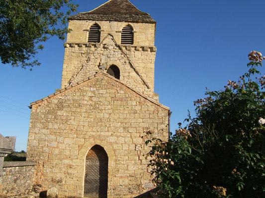 Eglise Saint-Christophe Montferrand du Périgord