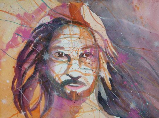Jesus, 76 x 56 cm, verkauft