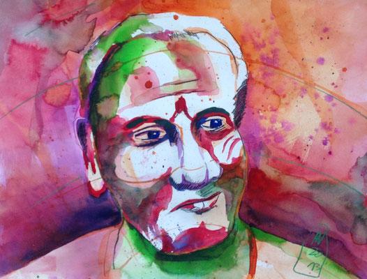 Maharaj, 48 x 38 cm, verkauft