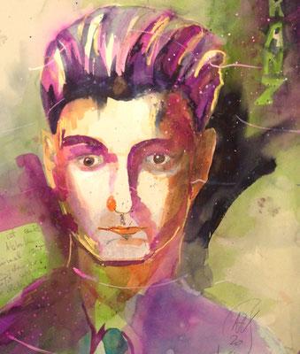 Franz, 48 x 38 cm, verkauft