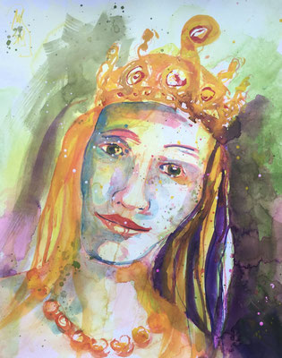Archetyp Königin, 50 x 40 cm, 90 Euro