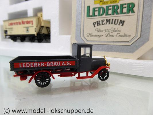 """Märklin 48792 DRG G-Wagen Set Biertransport Ep.2 """"Ledererbräu Nürnberg"""" MHI Sondermodell   1"""