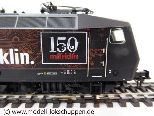 """BR 120.1 """"150 Jahre Märklin"""" DB / Märklin 37530 / MHI 2009    7"""