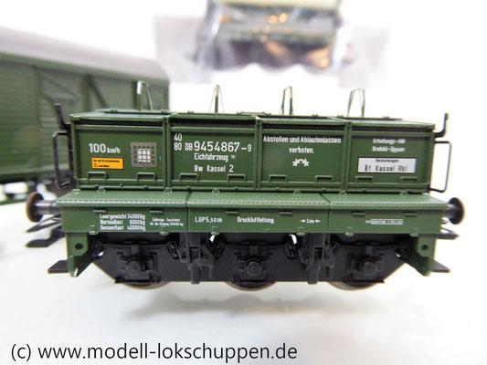 Märklin 48690 H0 Wagen-Set Gleiswaagen-Eichzug, DB, Ep. IV    11