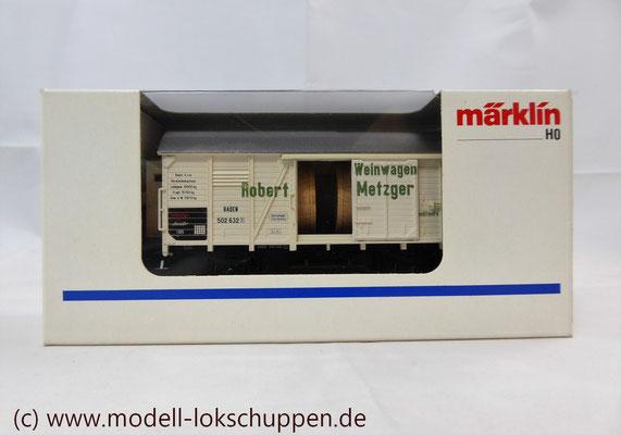 """Märklin H0 48754 Insider Jahreswagen 1999 """"Robert Metzger & Co""""    2"""