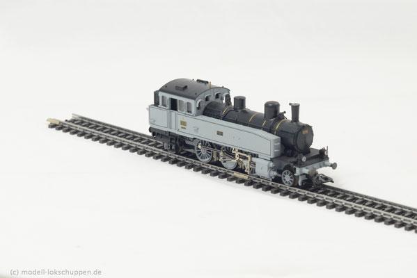 Reihe T 5 der K.W.St.E. Betriebs-Nr. 1208 / Märklin 3412  4