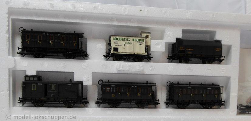 Märklin 43985 Bayerisches Personenwagen-Set / Epoche I     2