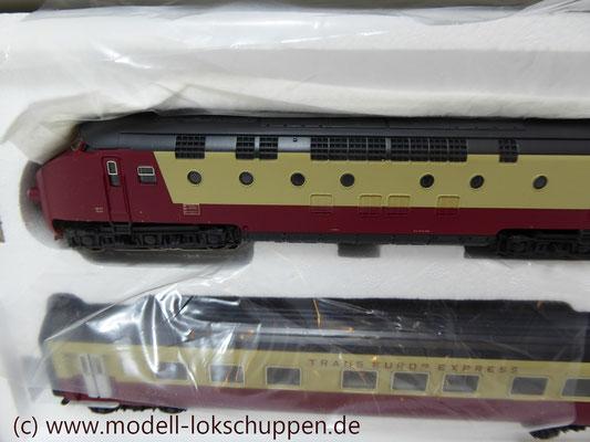 Märklin Digital 39700 - Triebwagen-Zug TEE RAm I SBB    5
