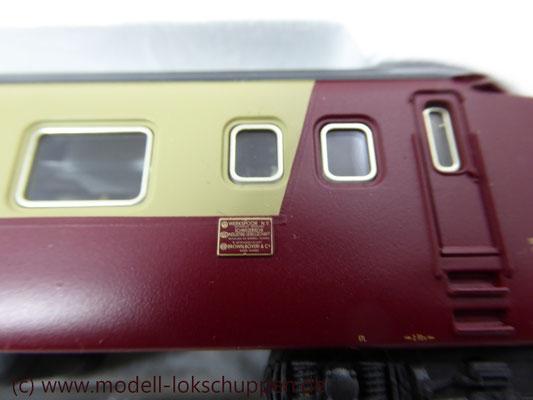 Märklin Digital 39700 - Triebwagen-Zug TEE RAm I SBB    8