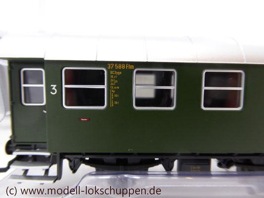 PersonenwagenC3yge / C3Pwyge der DB / Märklin 43172, 43182, 43192   5