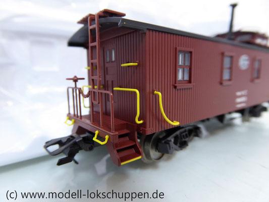 Märklin 45703 Güterzugbegleitwagen Caboose Serie 19000 der New York Central System    5
