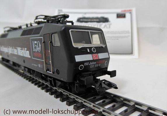 """BR 120.1 """"150 Jahre Märklin"""" DB / Märklin 37530 / MHI 2009    5"""
