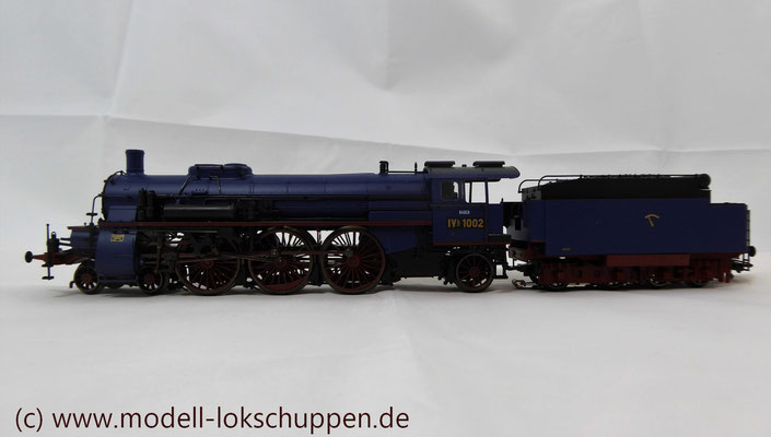 Schnellzuglokomotive Serie IVh der Gr.Bad.Sts.E. / Märklin 39021 MHI 2008    4