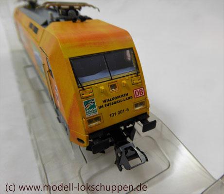 """Märklin 39370 E-Lok BR 101 """"Fußball WM 2006"""" Insider Modell 2000   5"""