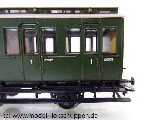 Märklin 4200 Preußische Abteilwagen Reihe A3 Pr 14 der DB    4