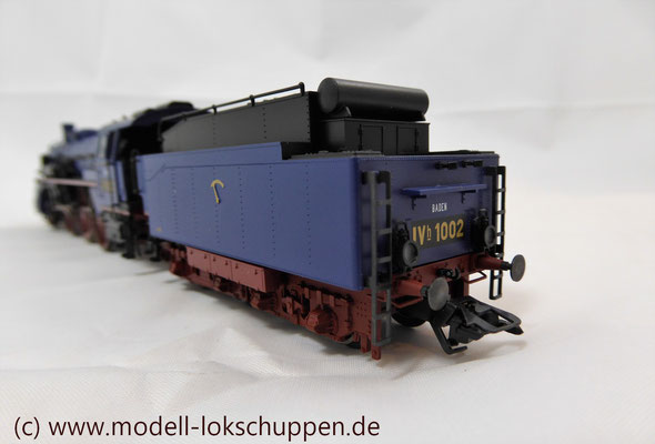 Schnellzuglokomotive Serie IVh der Gr.Bad.Sts.E. / Märklin 39021 MHI 2008    9