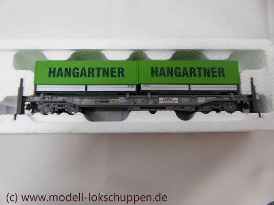 "Roco 66595  Einheitstaschenwagen SBB ""Hangartner AG"" OVP   2"