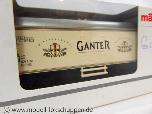 Märklin 44179 Bierkühlwagen Ganter Bier    2