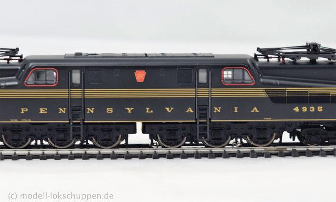 Typ GG-1 der PRR USA / Märklin 37490    7