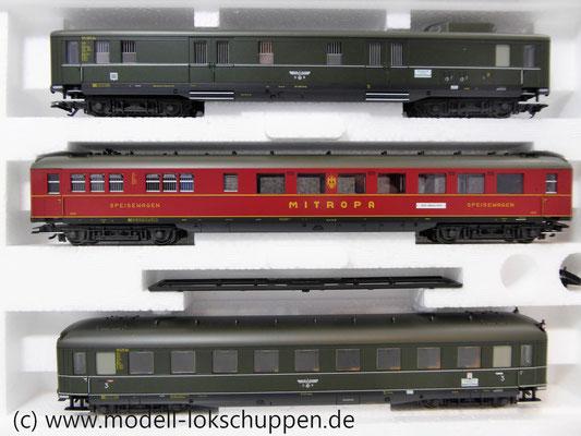 "Märklin 43259 Schnellzugwagen-Set ""Berlin-Hamburg"" DRG Ep.2    2"