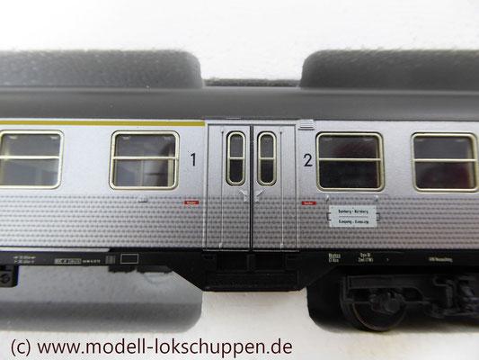 """BR 140 DB Wendezug im Nahverkehr """"Silberlinge"""" / Märklin 26511   9"""