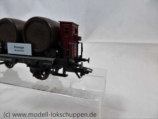 Märklin 46743  Weinfasswagen mit Bremserhaus der K.W.St.E.      5