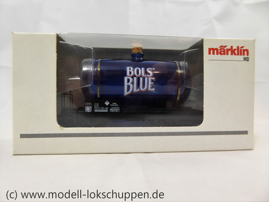 Märklin 44525 Glaskesselwagen Bols Blue Underberg AG MHI Sondermodell      1