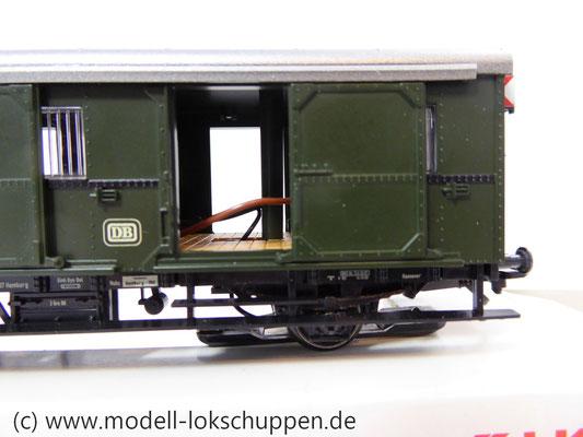 """Märklin 4316 Gepäckwagen """"Donnerbüchse""""-Einheitswagen Pwi der DB      3"""