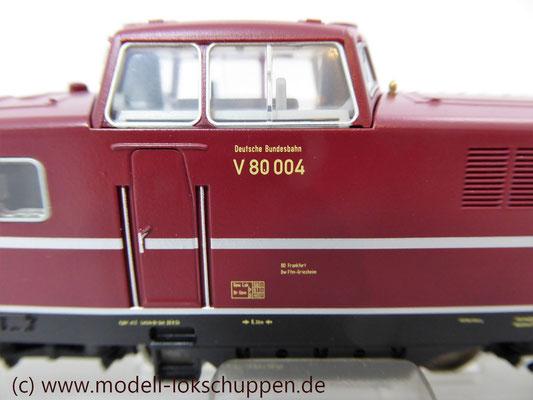 Märklin 36080 - Diesellokomotive BR V 80 DB (DIGITAL)   4