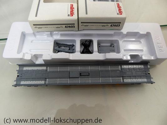 Märklin 47403  Niederflurwagen für Lkw-Transport  der Schweiz