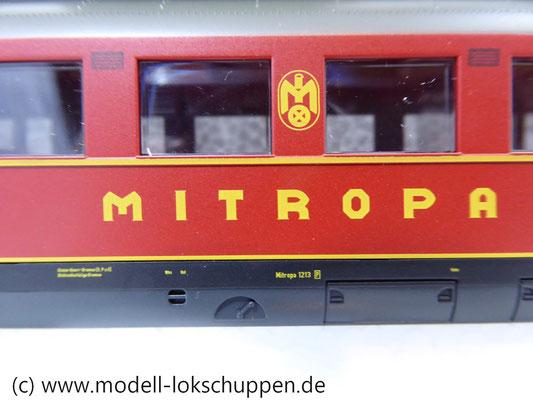 "Märklin 43259 Schnellzugwagen-Set ""Berlin-Hamburg"" DRG Ep.2    6"