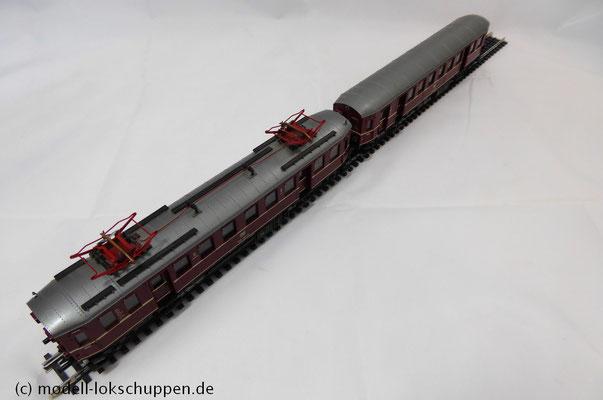 ROCO 14148 A DB Elektro-Triebzug BR 485/885 Epoche IV Spur H0 1:87 AC mit Digital Decoder oben