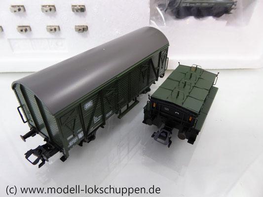 Märklin 48690 H0 Wagen-Set Gleiswaagen-Eichzug, DB, Ep. IV    9