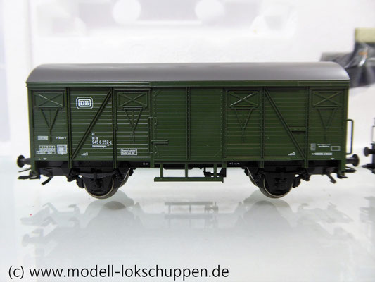 Märklin 48690 H0 Wagen-Set Gleiswaagen-Eichzug, DB, Ep. IV    7