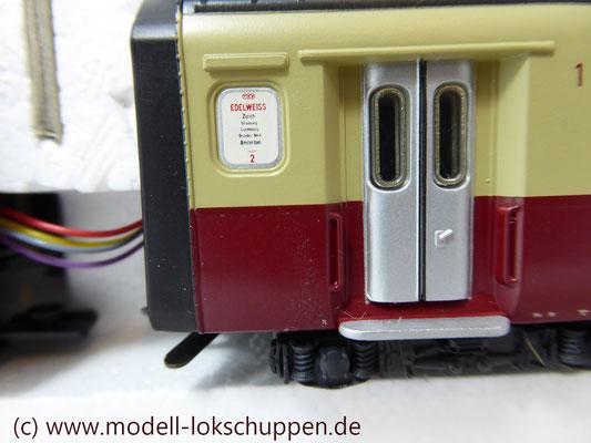 Märklin Digital 39700 - Triebwagen-Zug TEE RAm I SBB    6