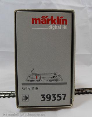 BR 1116 901-8 HUPAC / Märklin 39357 MHI Sondermodell dig. Sound OVP.