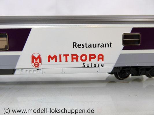 Märklin 42171  Euro-City-Wagen Mitropa Restaurantwagen IV WRm der SBB    5