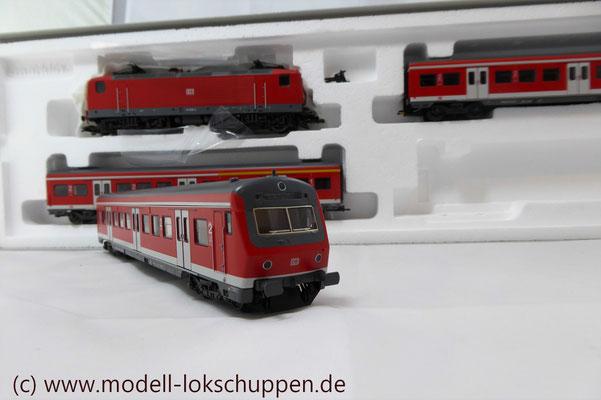 Wendezug im Nahverkehr/S-Bahn / Märklin 26507    6