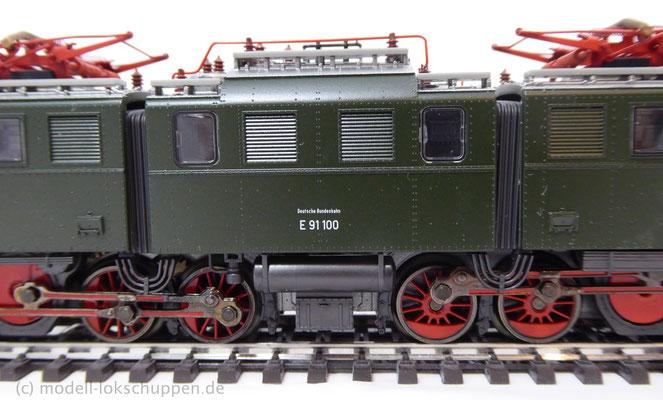 BR E 91 der DRG / Märklin 39195 MHI