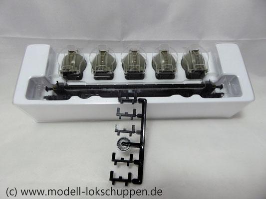 Märklin 48532  Behälter-Tragwagen  DB Von Haus zu Haus  Lbgjs 598, Epoche IV