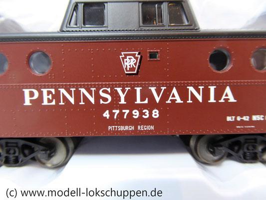 Märklin 45705  Güterzugbegleitwagen  Caboose Typ N5c der Pennsylvania Railroad    5